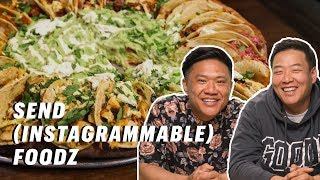 Timothy DeLaGhetto David So Try The Taco Pizza And NYC S Wildest Foods Down The Hatch