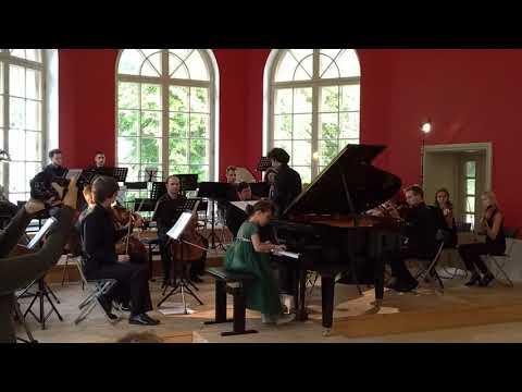 Й. Гайдн. Концерт для фортепиано с оркестром № 11 Pе мажор, Hob.XVIII/11, I ч..