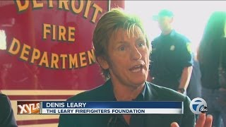 BURN Movie: Denis Leary and the Detroit Fire Department - WXYZ