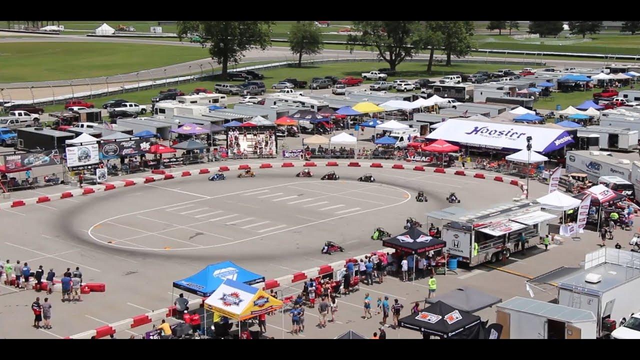 Quarter midget race track history