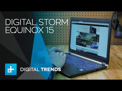 Digital Storm Equinox 15 - Hands On Review