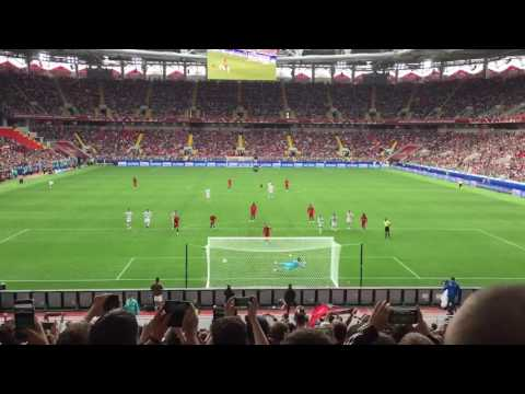 Adrien Silva Goal Portugal vs Mexico Confederations Cup third place game