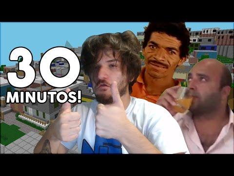 Minecraft: MEIA HORA DE PIOR MAPA DO MUNDO!!!