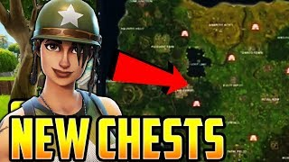 ALL *NEW SECRET SHRINES* LOCATIONS in FORTNITE BATTLE ROYALE (Chest LOOT)