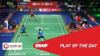 Download Video Play Of The Day | DANISA DENMARK OPEN 2018 R16 | BWF 2018 MP3 3GP MP4