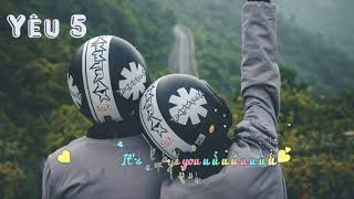 Yêu 5 - Rhymastic - Sub -Karaok