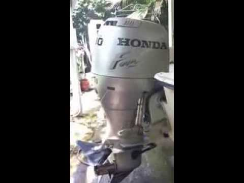 Honda BF 90 Idling After Carb Clean and Synch