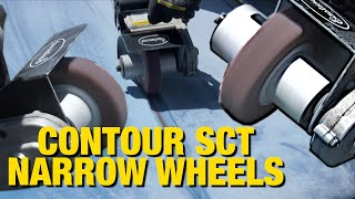Narrow Wheels for the Contour SCT - Remove Paint & Rust in Tight Spaces - Eastwood