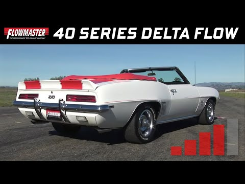 1969 Camaro Pace Car with Flowmaster 40 Series Delta Flow
