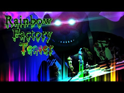SFM / FNAF| Game Of Chess |Rainbow Factory Teaser Music - WoodenToaster