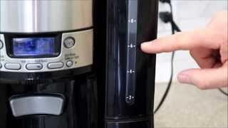 Using Hamilton Beach BrewStation 12-cup Coffee Maker - Peter's Kitchen Corner