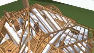 Расчет и конструирование крыш