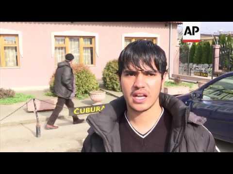 Czech team help migrants stuck on Serbia border
