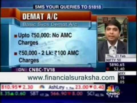 Personal Finance – Harshvardhan Roongta CFP – On CNBC TV 18 Market & Macros 21/02/13.