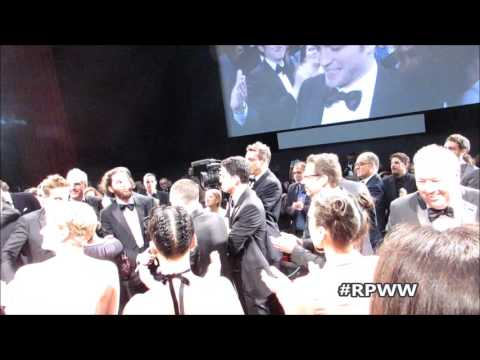 RPWW Good Time Gala In Cannes Standing Ovation