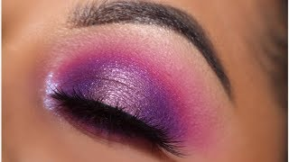 Purple Vibes Look Feat. Morphe 39S Palette