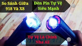 So Sánh Giữa 2 Loại Đèn Pin Tự Vệ Nổi Tiếng, Chất Lượng Ở Thời Điểm Hiện Tại!!! Phê Lắm AE Ơi