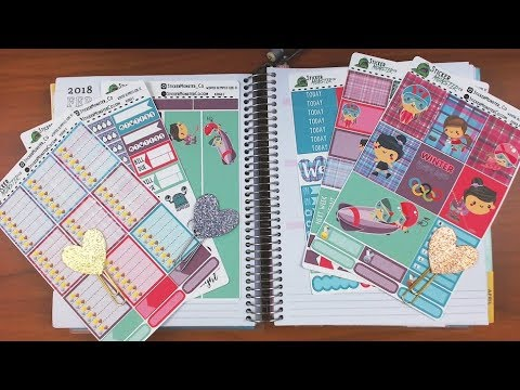 Recollections Planner Plan with Me February 19-25 featuring StickerMonsterCo