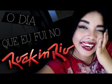 O DIA QUE FUI NO ROCK IN RIO + dicas de como se virar lá