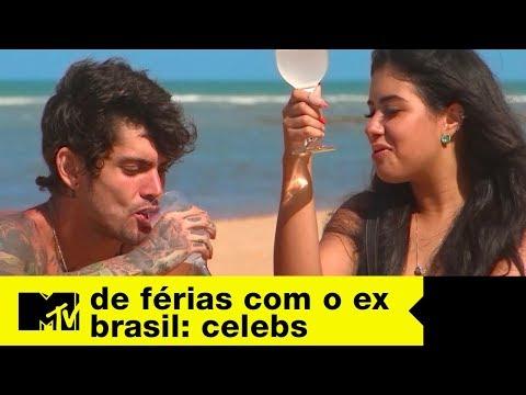 Digow E Cinthia Cruz Se Pegam Durante Passeio | MTV De Férias Com O Ex Brasil Celebs T5