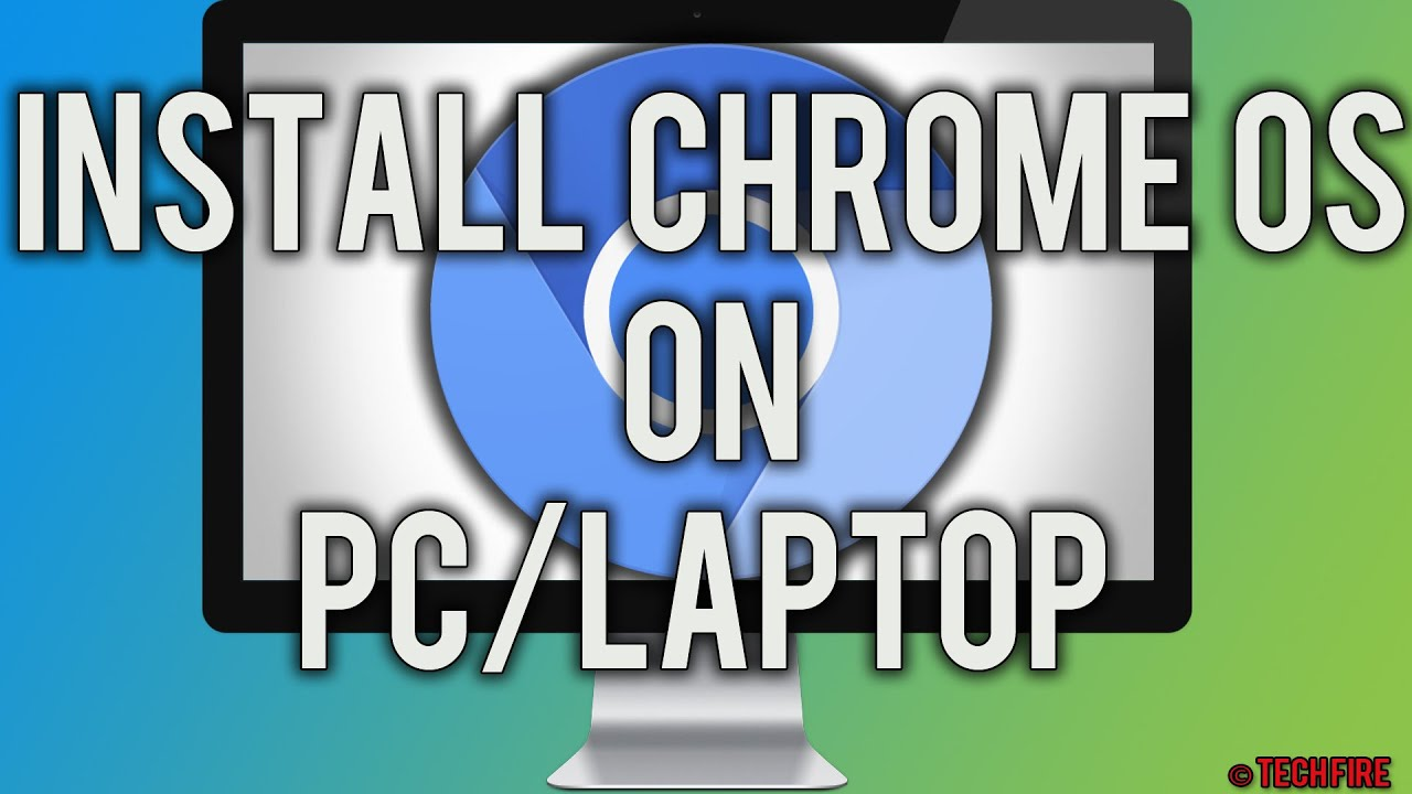 How to install Chrome OS on PC/Laptop 2016! - YouTube