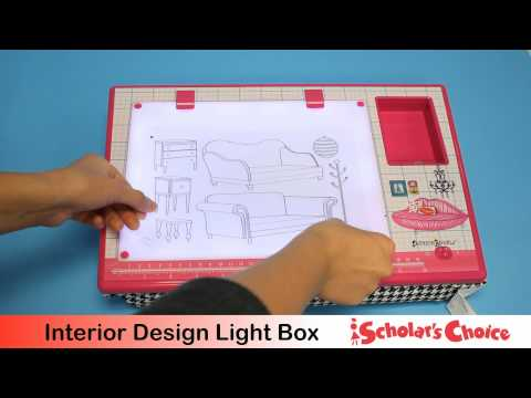 Fashion Angels Interior Design Light Box Youtube