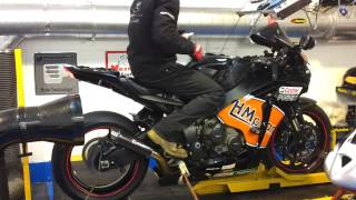 Hammer and Tongs Performance, Honda CBR1000RR Power run