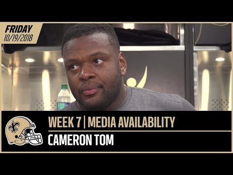 "Cameron Tom | ""If the opportunity calls, I'll be ready"" 