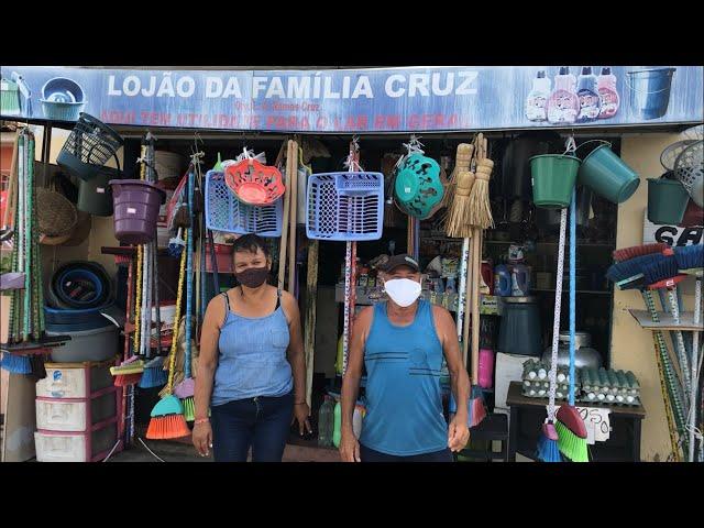LOJÃO DA FAMÍLIA CRUZ NO BAIRRO PLANALTO EM ITAMBÉ