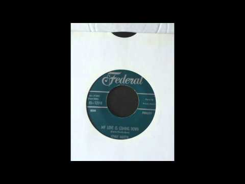 KENNY MARTIN  -  MY LOVE IS COMING DOWN - FEDERAL RECORDS