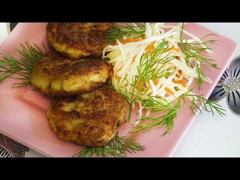 Куриные котлеты с капустой, рецепт