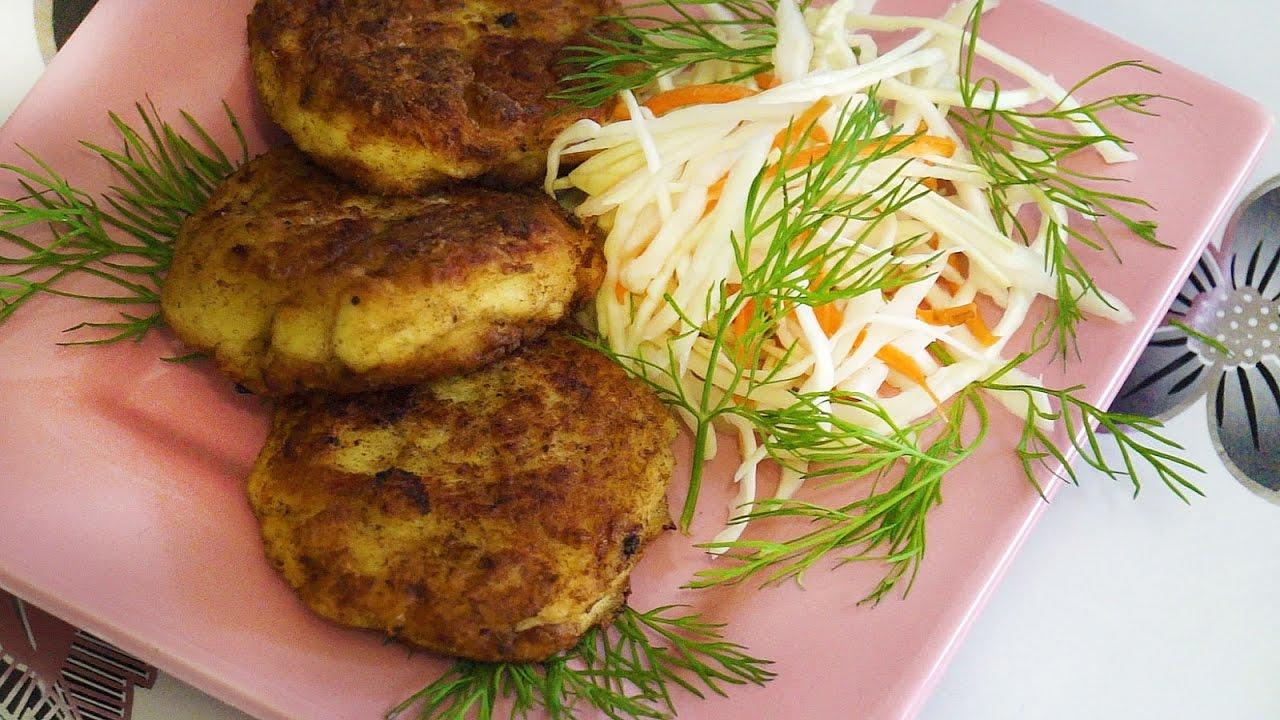 Котлеты с куриные с капустой рецепт с фото
