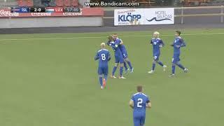 U21 Iceland - U21 Luxembourg 3:0 (6.9.2019)