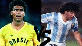 Baixar Romário Vs Maradona (1989) // Brazil x Argentina // Copa América