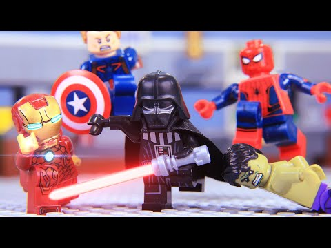LEGO STAR WARS The Rise Of Darth Vader Vs Avengers