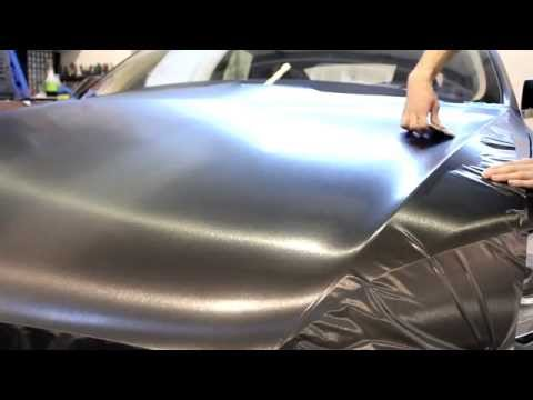 Tesla Model S Brush Metallic Wrap