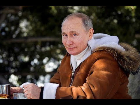 *NEW* Vladimir Putin holiday in Siberia 2021
