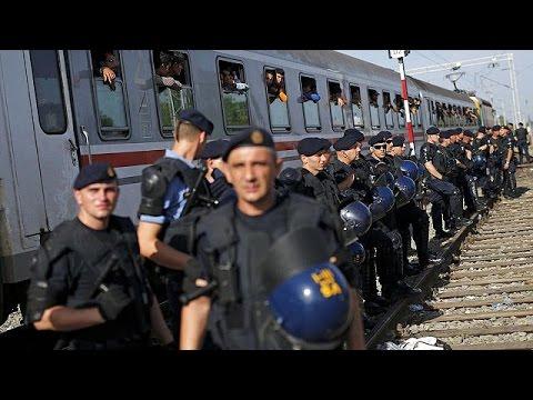 Hırvatistan'a ulaşan binlerce...