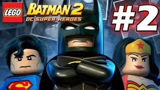 LEGO Batman 2 : DC Super Heroes Episode 2 - Harbouring a Criminal (HD) (Gameplay)
