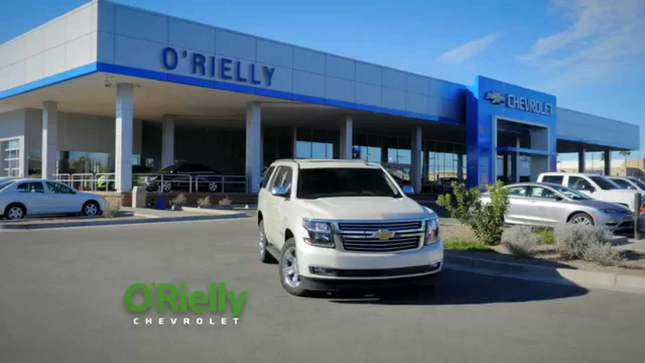 Delivery At ORielly Chevrolet Tucson AZ Your New and Used Car Dealer