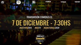 Crossfit Southfit  Challenge - Live Dia 2