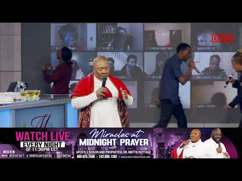 THIS KIND COMES OUT BY PRAYER & FASTING || APOSTLE EDISON & PROPHETESS MATTIE NOTTAGE