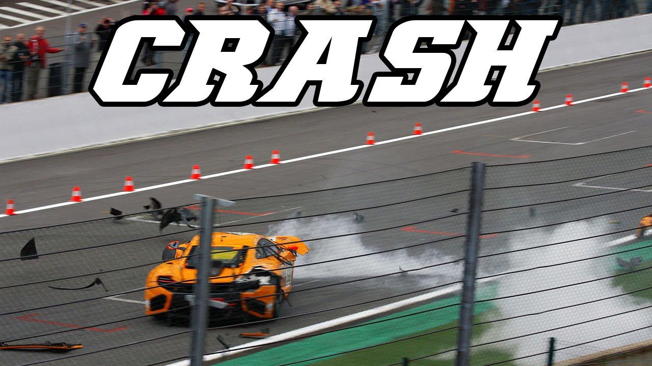 re-upload Crash McLaren MP4 12c GT3 at 24h of Spa 2011 (slideshow ...