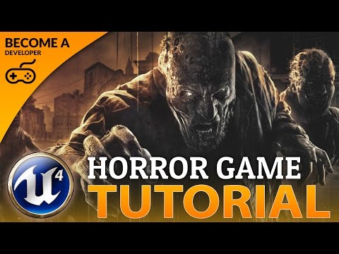 Introduction & Setting Up Hunger System -#1 Creating A Survival Horror (Unreal Engine 4)