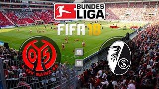 FIFA 18 Bundesliga 1 FSV Mainz 05 Sport Club Freiburg Gameplay Deutsch Livestream