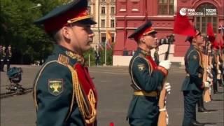 60 лет Почетному караулу ВС России