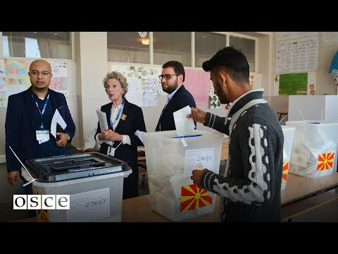 The Organization for Security and Co-operation in Europe (OSCE): The former Yugoslav Republic of Macedonia, Municipal Elections, 15 October 2017: press conference