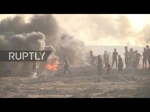 State of Palestine: Israeli forces kill 6 Palestinians in protests - Gaza officials