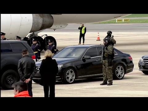 Llegada del Primer Ministro israelí Benjamín Netanyahu
