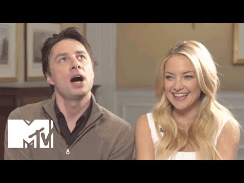 Kate Hudson & Zach Braff in 'The JewOff'  MTV After Hours